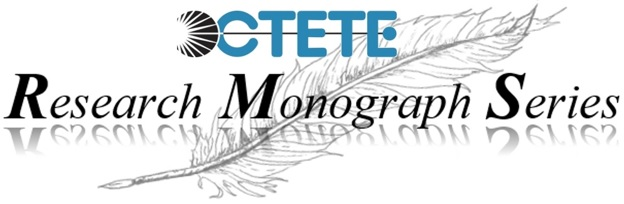 The logo of the Research Monograph Series features a feather quill ment to remind one of the ancient scribes.