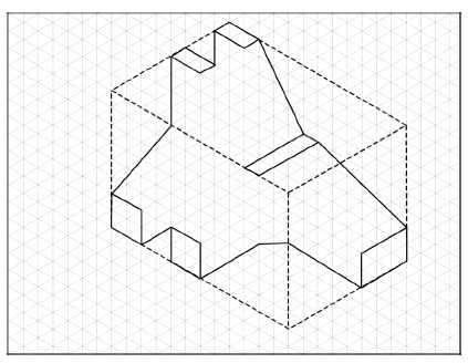 how to draw isometric circles revit
