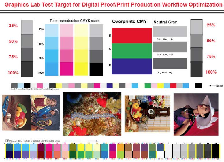 Image Result For Color Printer Test