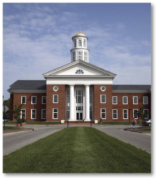 Paul and Rosemary Trible Library [PHOTO COURTESY OF CHRISTOPHER NEWPORT UNIVERSITY]
