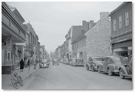 Winchester, main street, 1940