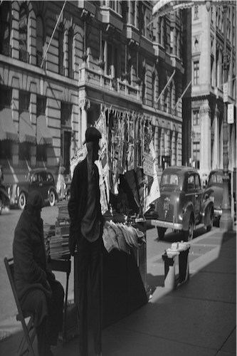 Philadelphia, Pennsylvania. Newsstand on South Broad Street. 1939. Courtesy of the Library of Congress.